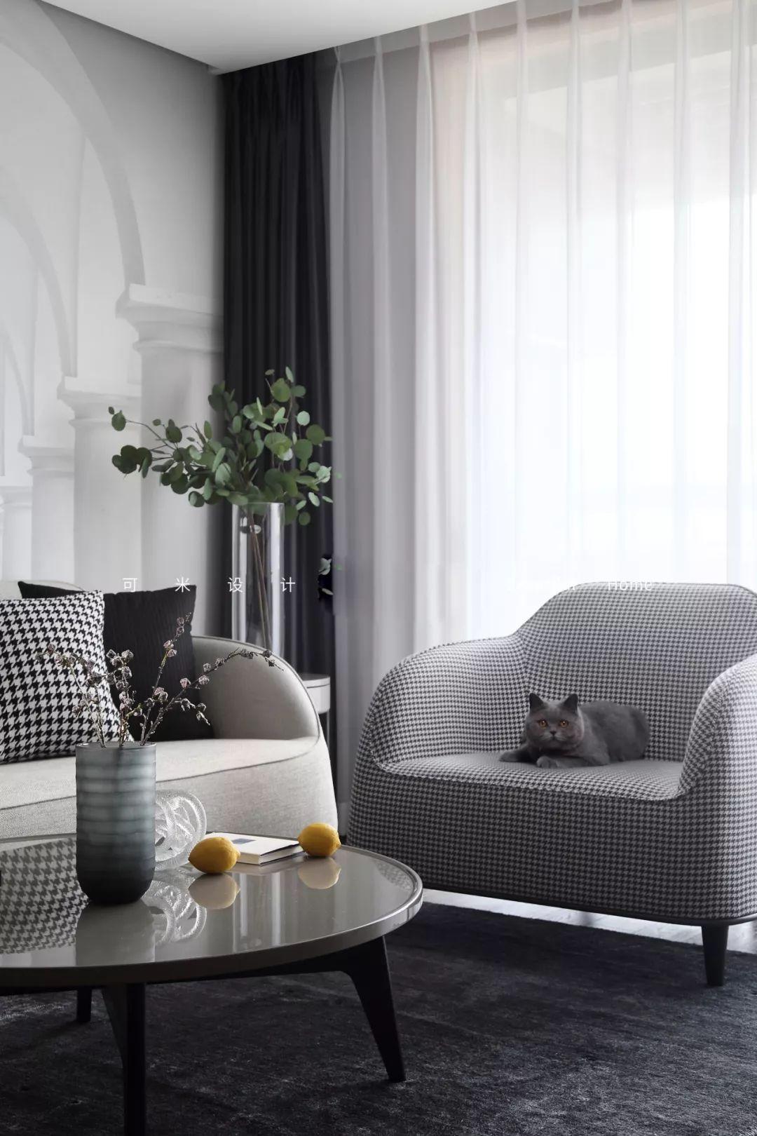家具軟裝搭配好了,小戶型顏值堪比大宅!